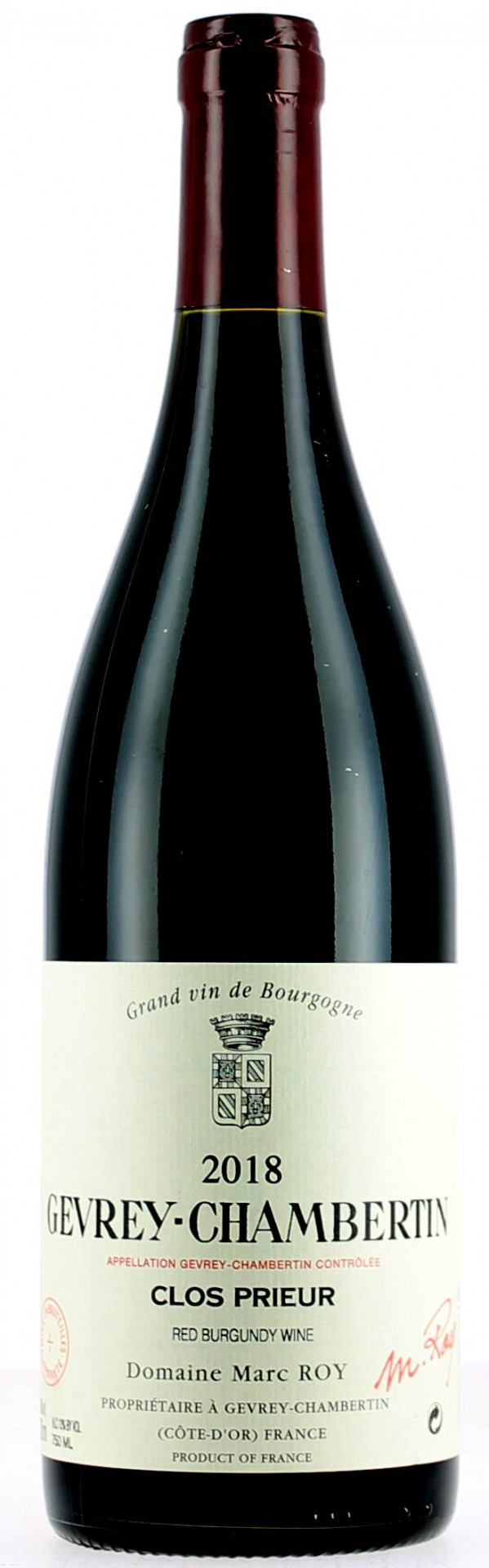 "Gevrey-Chambertin ""Clos Prieur"" Domaine Marc Roy"